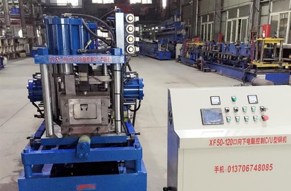 彩钢瓦机双层压瓦机是为了节省空间、节省成本